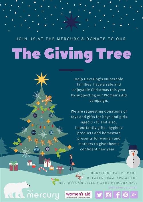 The Giving Tree - Supporting Women's Aid Charity