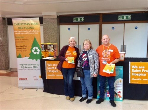 The Mercury raises more than £2,800 for charities with Santa's Grotto and gift donations