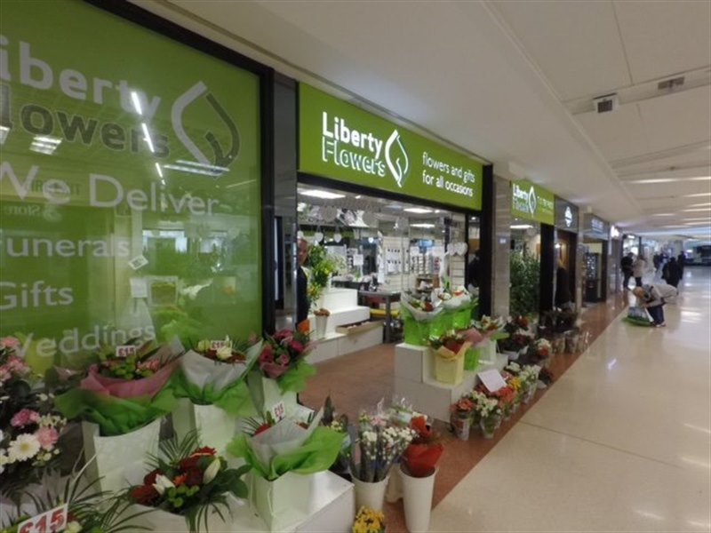 Liberty Flowers in The Mercury Shopping Centre