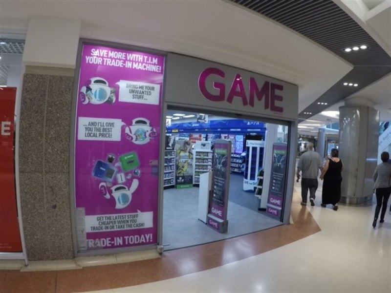Game in The Mercury Shopping Centre